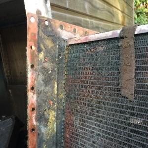 Faisceaux du radiateur hors service