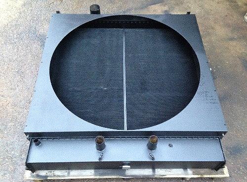 Radiateur maxi réparé avant livraison